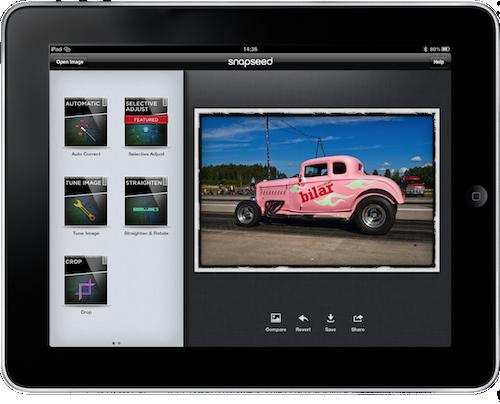 Snapseed för iPad