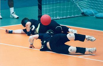 Blockering av bollen