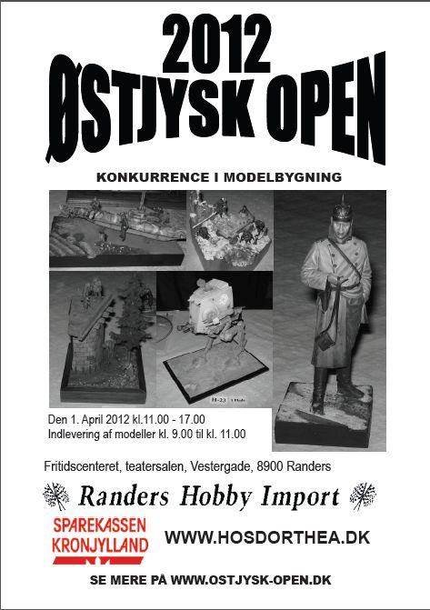 affisch ØstJysk-Open 2012
