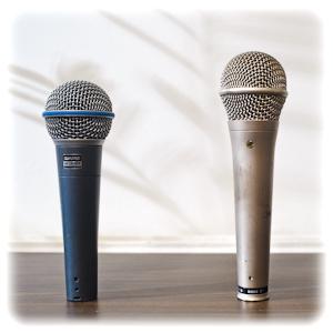Mikrofoner Beta58 och S1