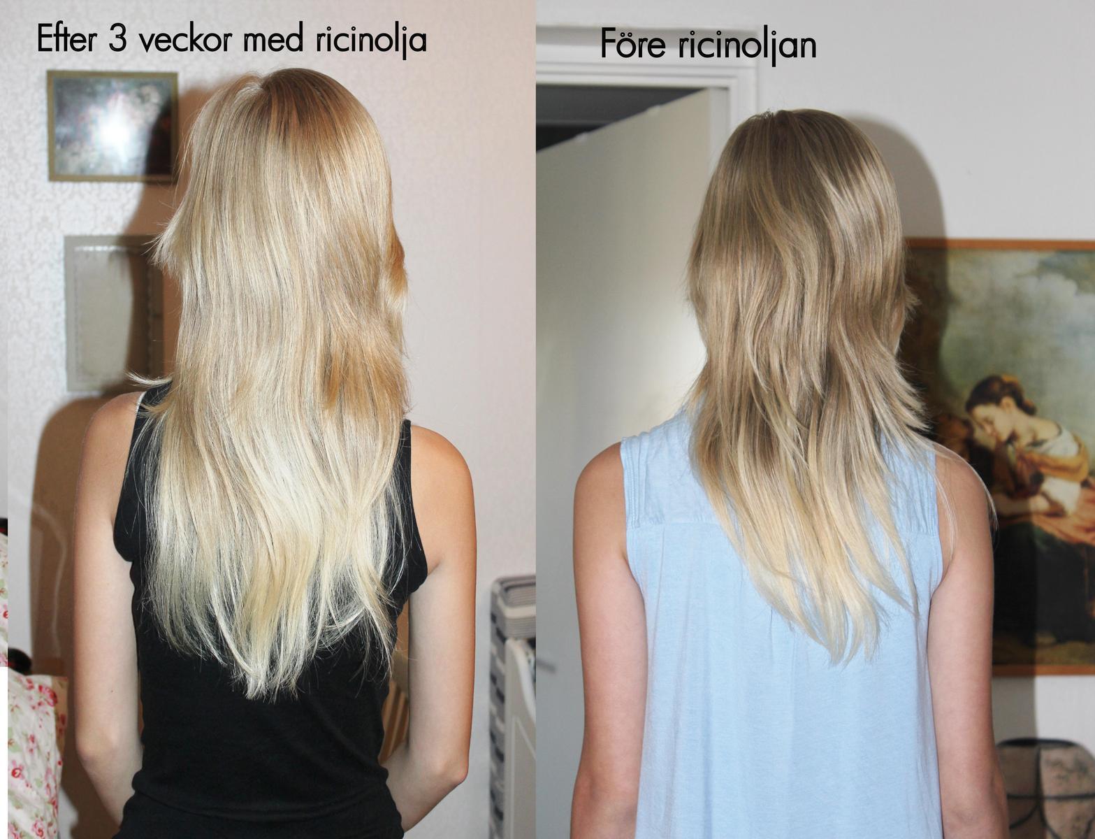 stora hårkuren före efter