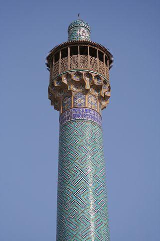 Moskén i Isfahan