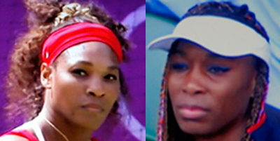 Serena och Venus Williams
