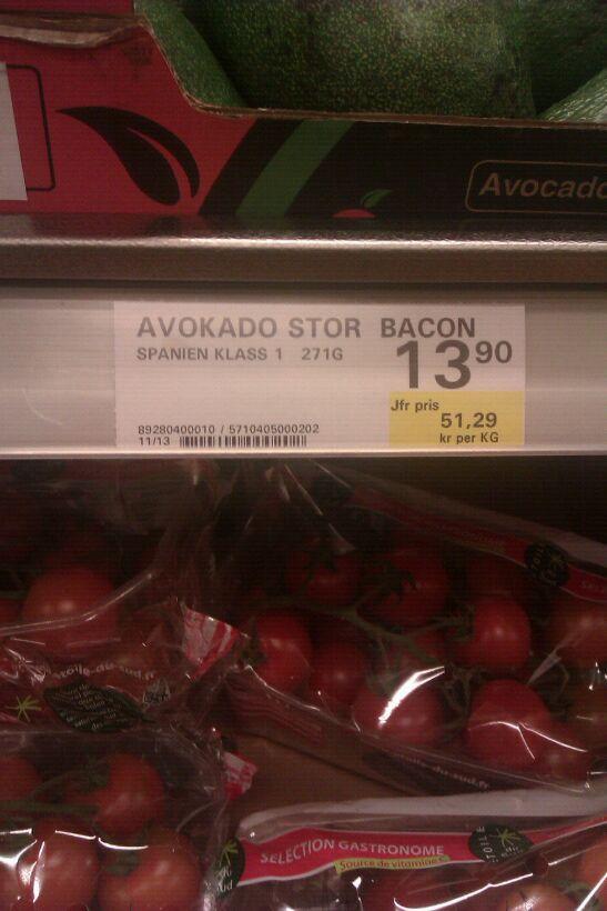 Avokado kan bli rena lyxmaten