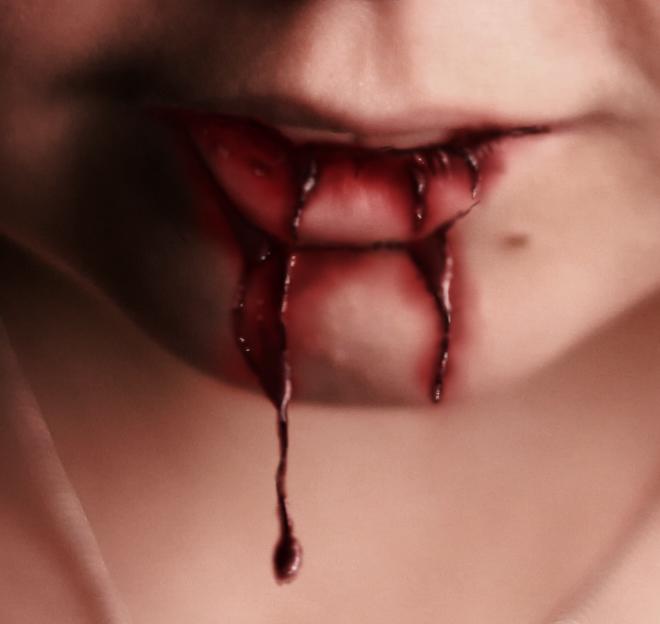 Blod i munnen