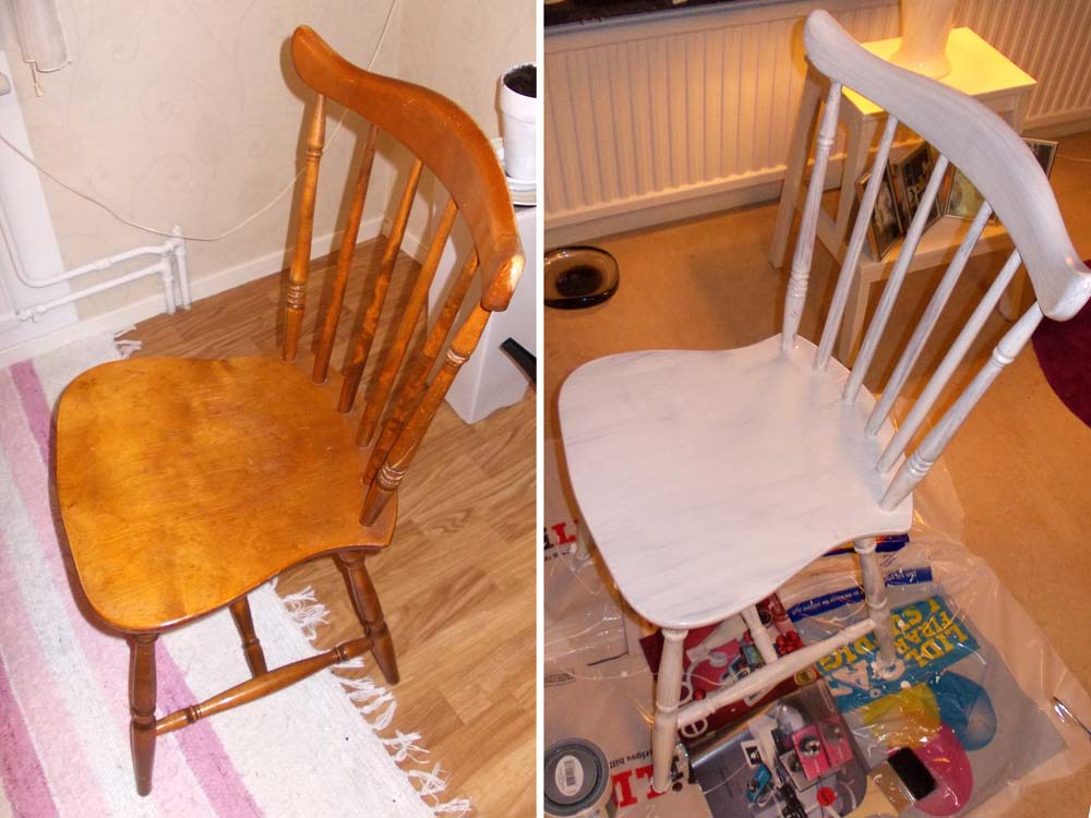 Målat om gamla möbler Möbleråterbruk iFokus