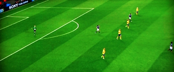 Vanlig fotbollsmatch