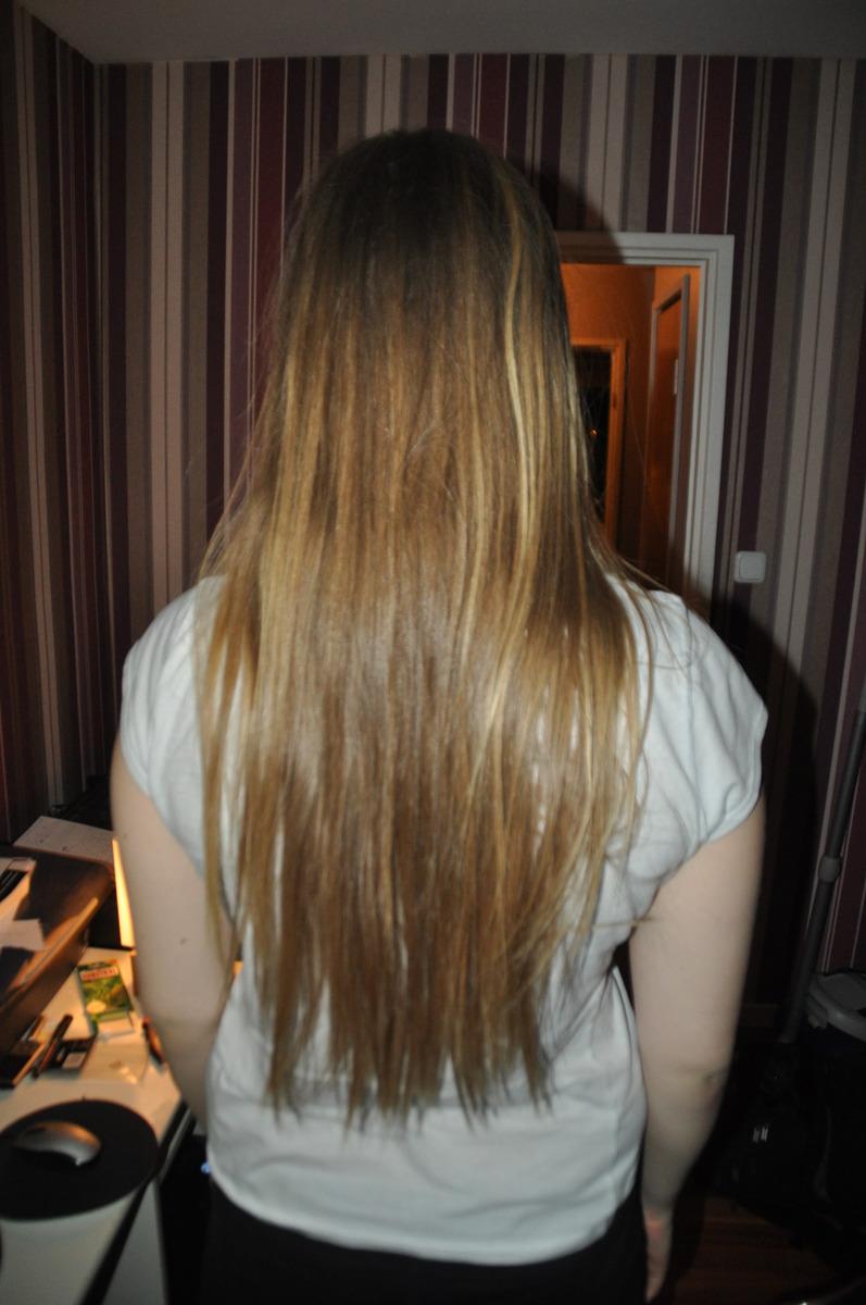 Halvtaskig bild på mitt hår. Har sparat sedan 2004 2005 då jag klippte  axelångt. Tvättar det var 3 e 4 e dag med ett billigt schampo balsam från  Netto  P ... 762fa02970119