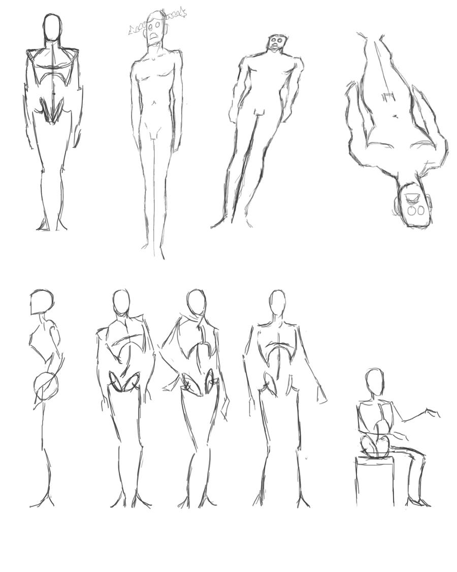 lära sig rita människor