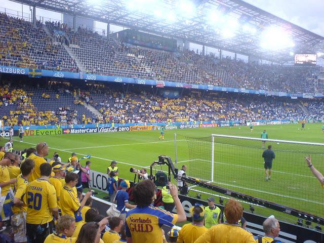 Campa i Kiev under fotbolls EM | FREEDOMtravel
