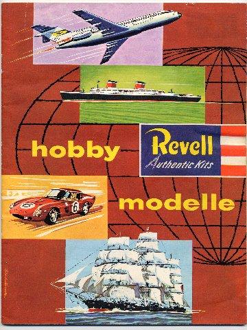 Revell Katalog 1962