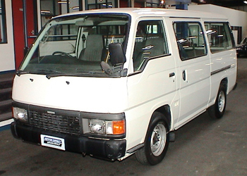 En minibuss