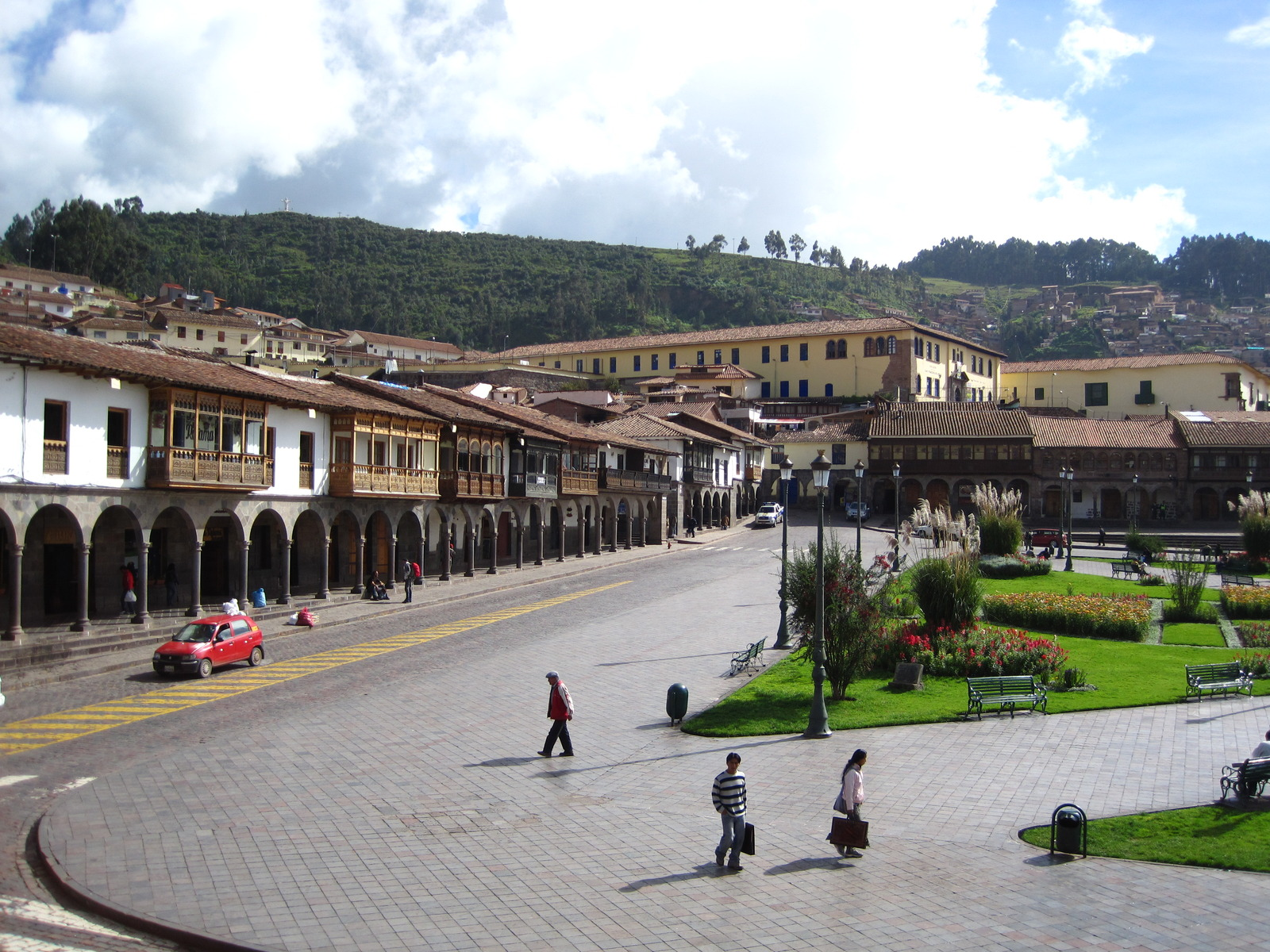 Down town Cusco