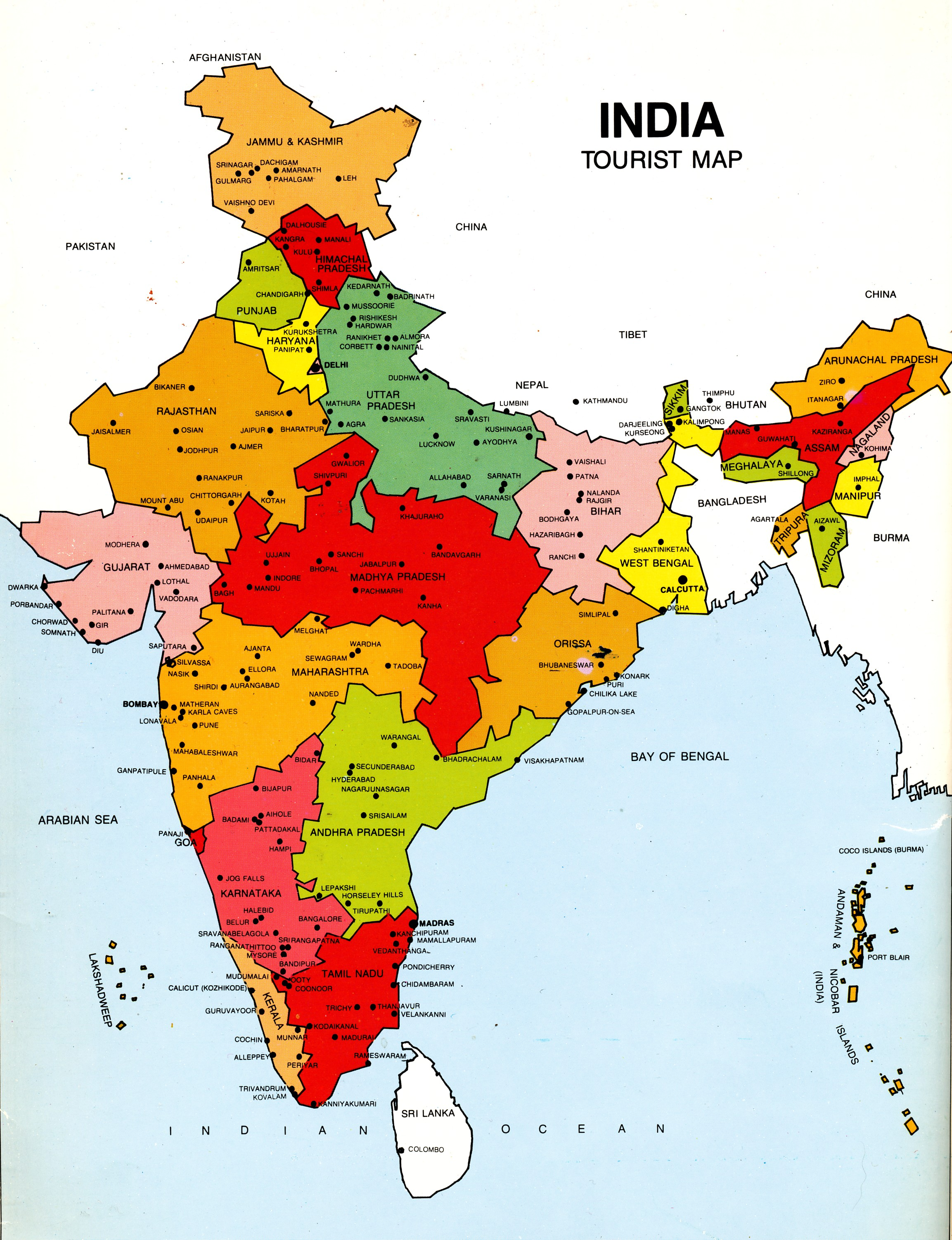 Pilgrimsresan Karta Resor Och Upplevelser Indien Ifokus