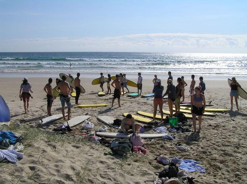 Surfa i Australien