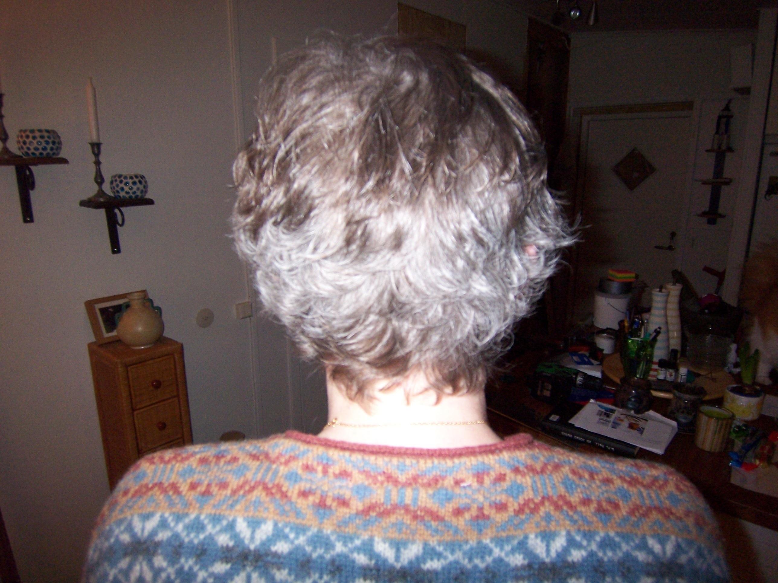 färga håret efter cellgiftsbehandling